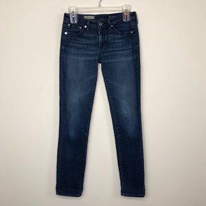 Ag The Stilt Cigarette Leg Jeans Size 26